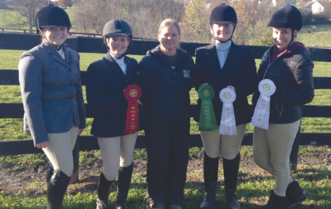 Marshall's equestrian team competes in second show of the year