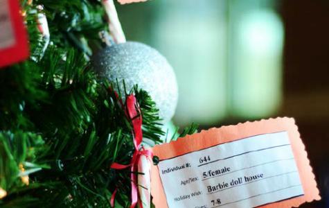 Marshall helps community through holiday wish tree event