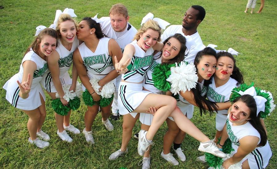 Marshall Cheerleaders - a photo on Flickriver