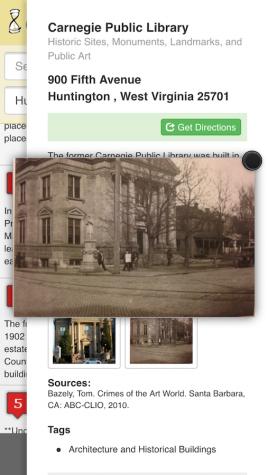 Interactive app makes history portable