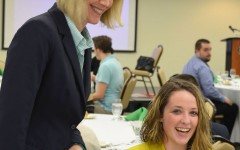 Etiquette dinner helps students develop professional skills