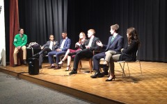 Presidential candidates debate student questions