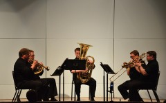 Brass quintet emphasizes value of live music