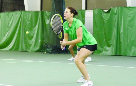 Herd tennis prepares for conference play