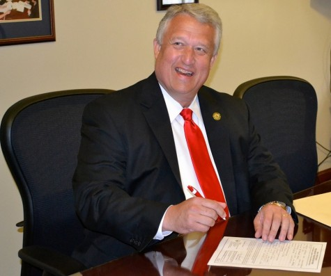 Senate President Bill Cole discusses plans to unite universities and State Government