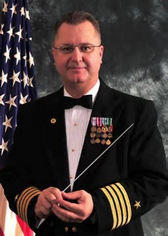 Navy captain is named Marshall University Band Director