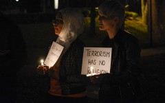 Muslim Students Association organizes candlelight vigil
