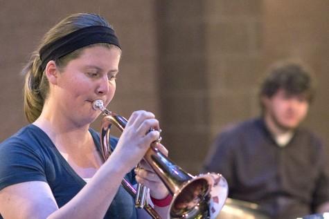 "Jazz Combo Blue's ""Relaxin'"" Wednesday night"