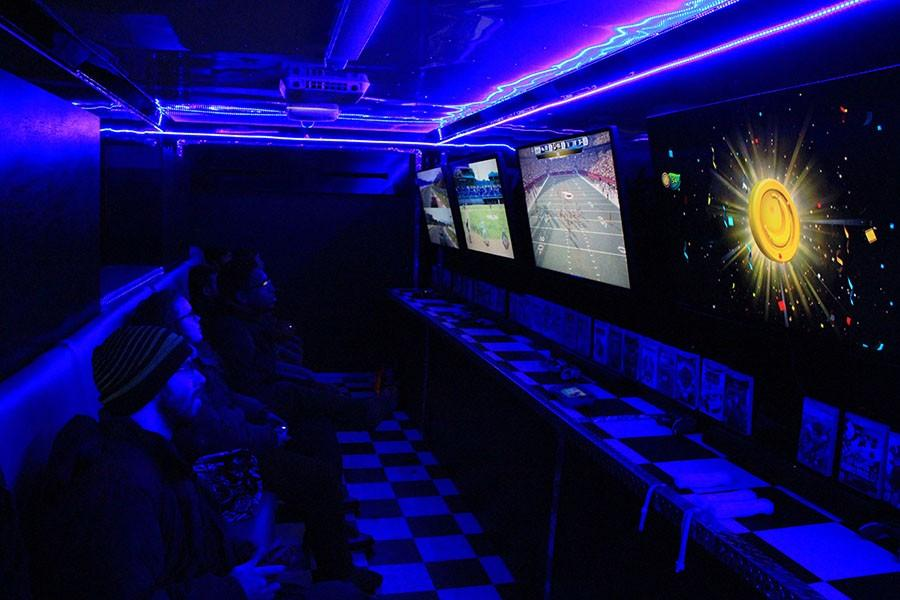 CAB brings Mobile Gaming Bus to campus