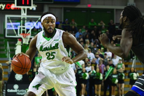 Taylor thriving in increased leadership role for the Herd
