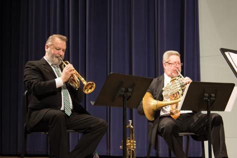 Faculty Brass Quintet gives a contemporary look at brass music