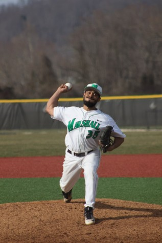 Marshall baseball sweeps Brown in four-game series during weekend host