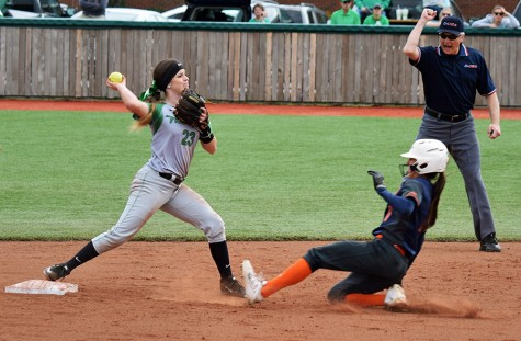 Softball team hosts Toledo