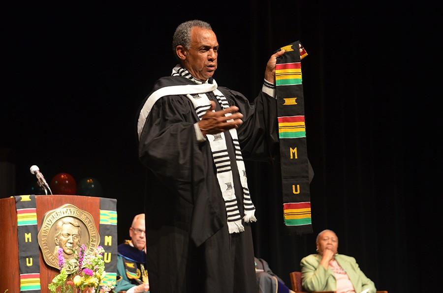 Donning of Kente celebrates students accomplishments