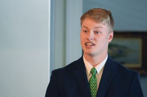Getting to know Matt Jarvis, Marshall's new student body president