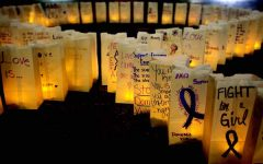 Alphi Chi shines a light for domestic violence