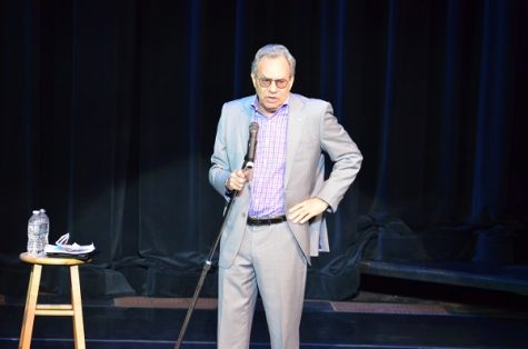 Lewis Black delivers laughs at Joan C. Edwards Playhouse