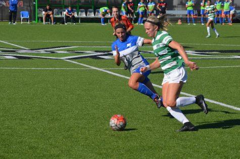 Women's soccer prepare for final regular season road trip