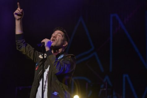 Andy Grammer, Gavin DeGraw perform at Keith-Albee