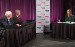 Livestream: Cole and Justice square off in gubernatorial debate