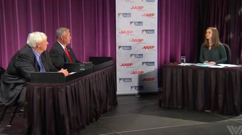 Livestream: Cole and Justice square off in gubernatorial debate