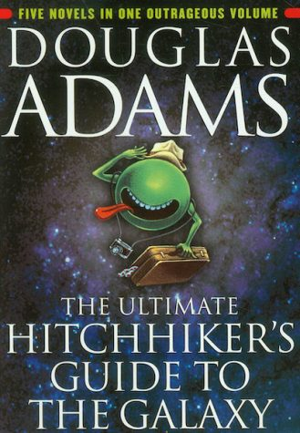 The Book Nook: Hitchhiker's Guide to the Galaxy