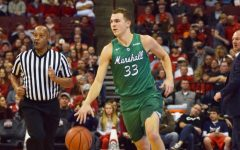 Without Taylor, Herd fall to Buckeyes for first loss of season
