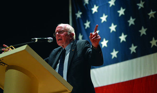 Senator Bernie Sanders returns to West Virginia