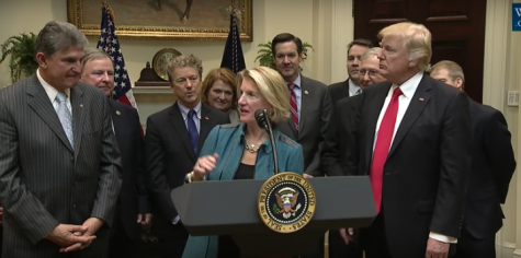 President Trump signs legislation to protect coal