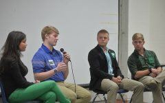 Student body president, VP election debate
