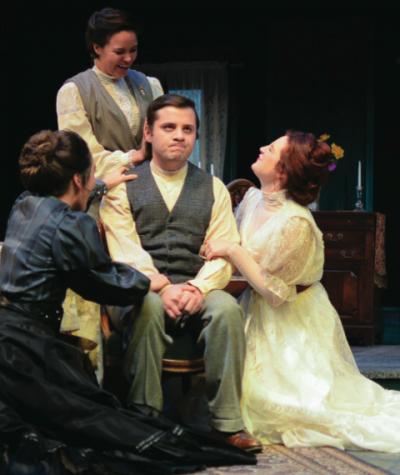 'The Three Sisters' brings drama to Playhouse