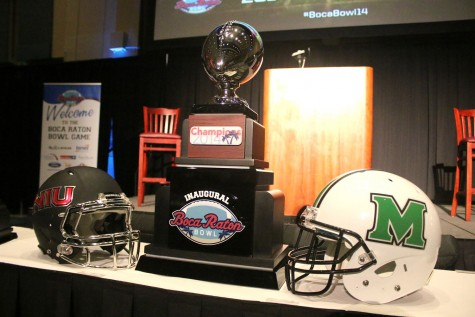Herd makes final preparations for Boca Raton Bowl