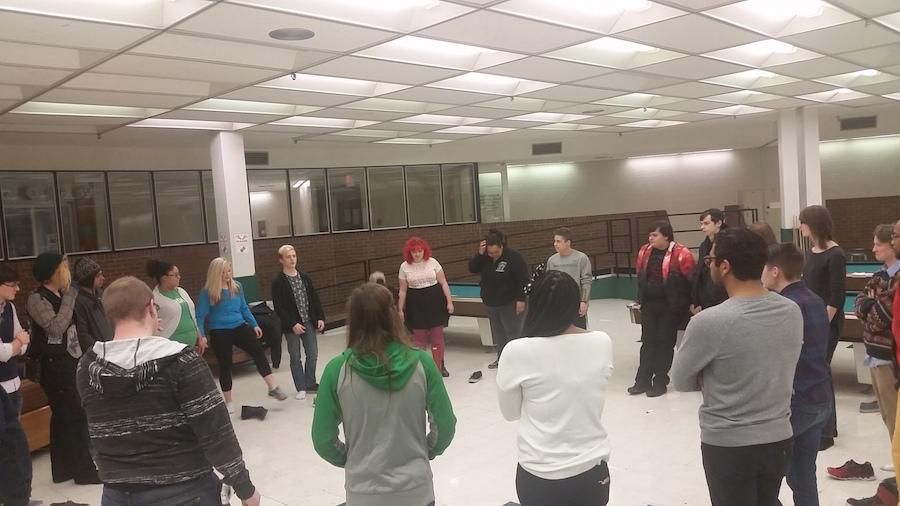 Marshall University's Lambda Society met Monday for their first time this semester.