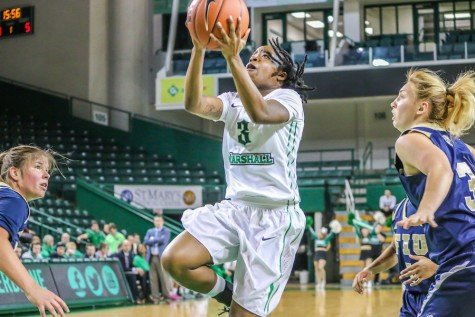 Herd outlasts Owls, wins 66-59