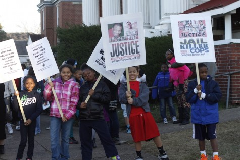 Gallery: March of remembrance for Martin Luther King, Jr.