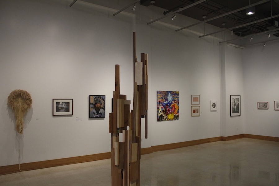 Fourth+Annual+National+Juried+Exhibition+at+the++Visual+Art+Center+displayed+a+variety+of+art+forms.
