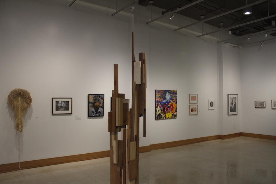 Fourth Annual National Juried Exhibition at the  Visual Art Center displayed a variety of art forms.