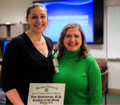 Chief resident chosen as January's Resident of the Month