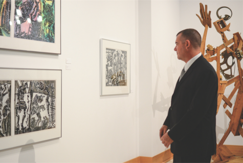 VAC gallery exposes students to national art