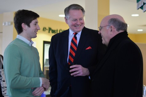 Mayor discusses substance abuse, other issues at Coffee with the Mayor