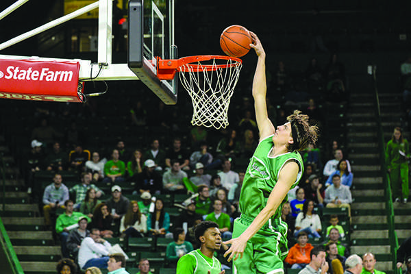 Members of the Thundering Herd men's basketball team kickoff the season with Thundering Madness on Thursday, Oct. 23 at the Cam Henderson Center.