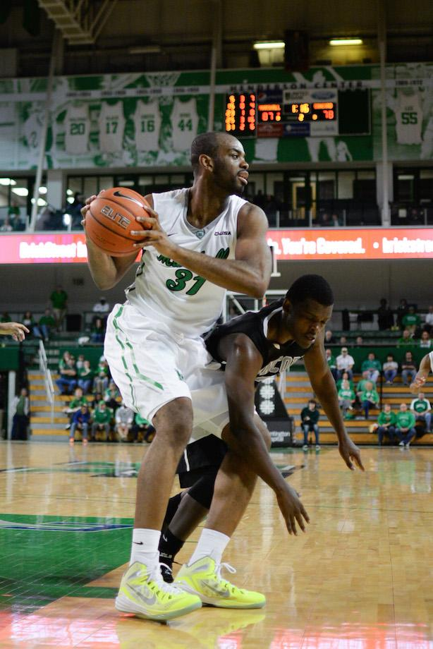 Marshall's JP Kambola (31) takes control of the ball as the Herd men's basketball plays Concord University in an exhibition game on Saturday, Nov. 8 at the Cam Henderson Center.
