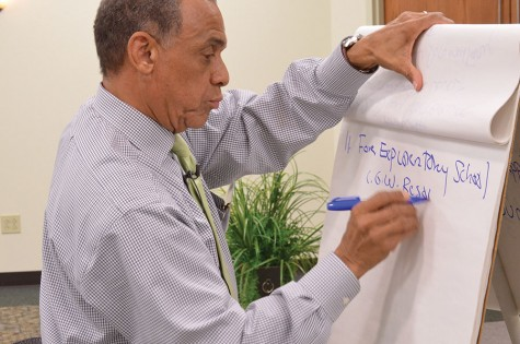 Collaboration session prompts discussion of future black history celebration