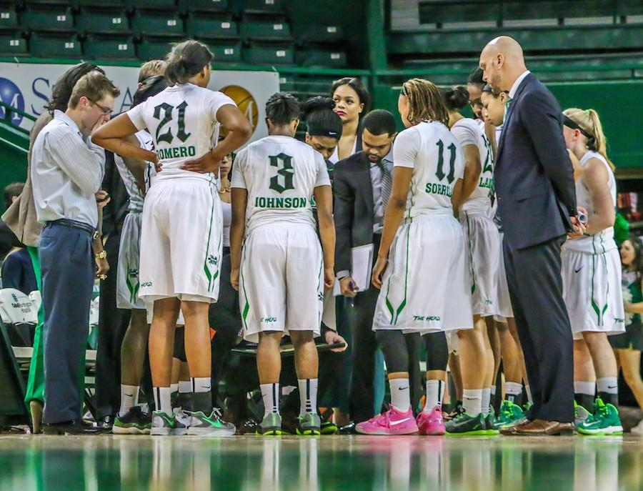 The+Marshall+University+women%27s+basketball+team+lost+to+Louisiana+Tech+University+68-67+Saturday.+The+Thundering+Herd+erased+an+eight+point+deficit+to+tie+the+game+in+the+final+seconds%2C+but+a+free+throw+by+LA+Tech%27s+Kelia+Shelton+with+0.8+seconds+left+in+the+game+sealed+the+Herd%27s+fate.+