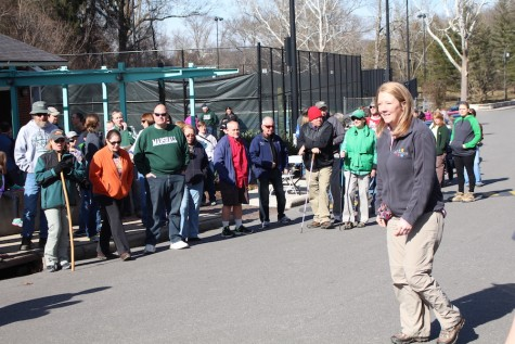 Huntington residents embark on 2-mile hike at Ritter Park
