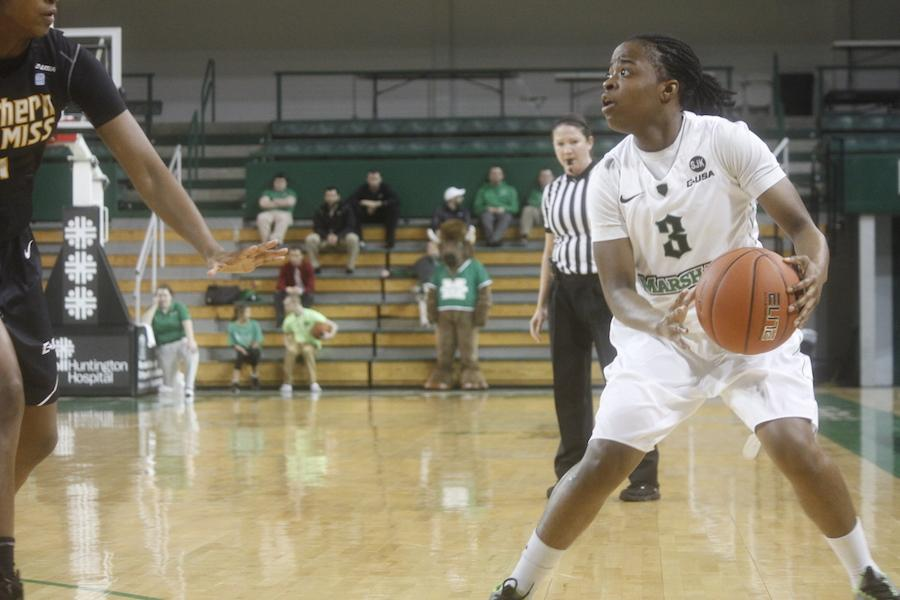 Marshall University's Womens basketball team plays Southern Miss at the Cam Henderson Center Thursday, Jan. 29.