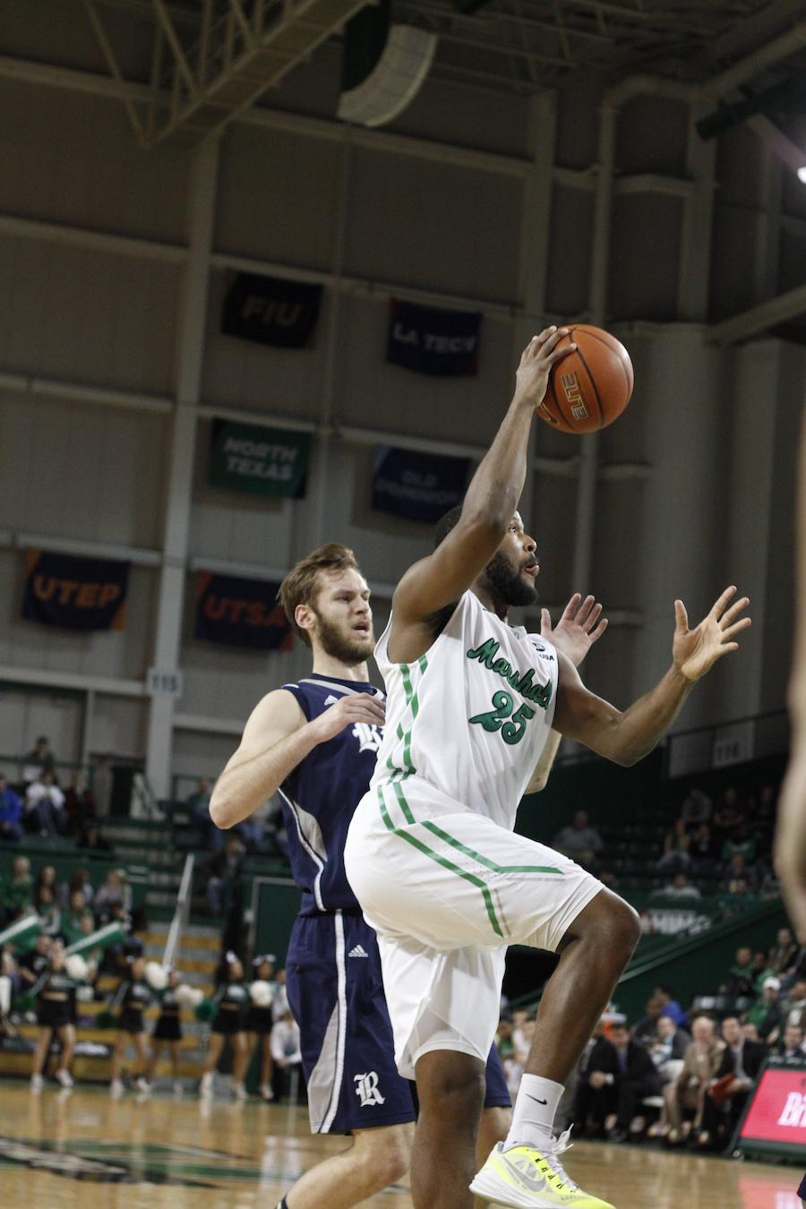 Marshall University men's basketball team takes on the Owls of Rice University Thursday in the Cam Henderson Center.