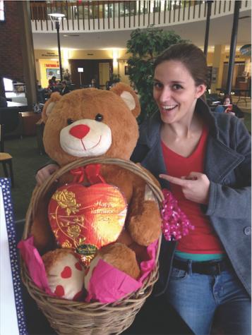 Alpha Kappa Psi presents raffle for Valentine's Day