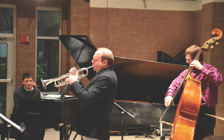 Jazz+pianist+Paul+Johnston+joined+local+musicians+to+perform+as+part+of+the+Jomie+Jazz+Artist+Series+Wednesday+in+the+Jomie+Jazz+Center.+