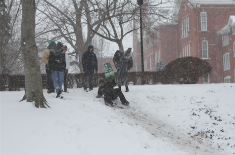 Column – Piles of snow become piles of homework